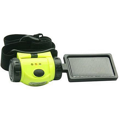 Solar Headlamp S081 Camping, Hiking and Emergency light