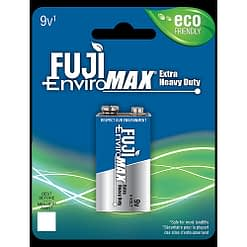 Fuji battery 1600BP1, 9 Volt, Case quantity 48 cells, Blister pack 2