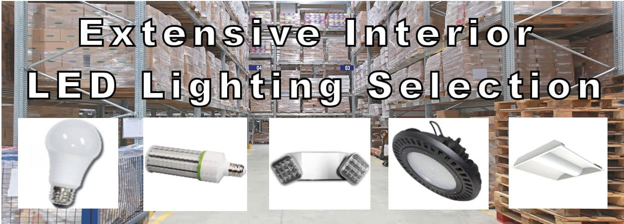 Interior LED Lighting Wide Selection