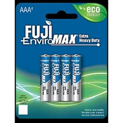 Fuji Battery 1400BP4, AAA Cell, Case quantities 192 cells. Blister pack contains 4 batteries.