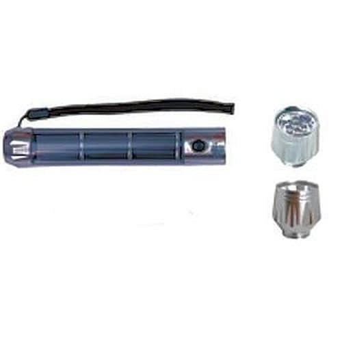 Ultimate Series Flashlight U988 Aluminum Powercell with interchangeable 90lm spot and 28lm floodlight heads.