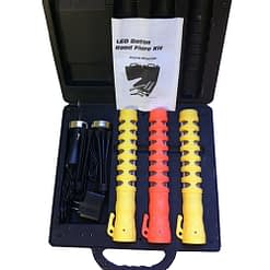 "LED Baton 11"" polymer body, high visibility 5 light patterns. Waterproof and shock resistant. Replaces chemical flares."