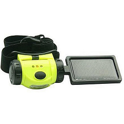 Solar LED Flashlight with Detachable Solar Panel