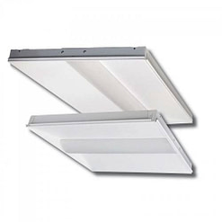 LED Troffer Light BCBLED24-40W Steel housing and acrylic lens, 2x4 foot, dimmable, 4 CCT options.