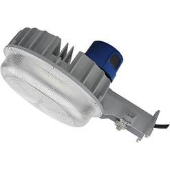 "DDALSN55W-5K Yard Light with photocell, 55W, 13""x7"" aluminum housing with fluted PC lens."