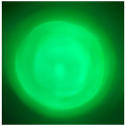 NightStar Shake Flashlight Green LED Wall Projection