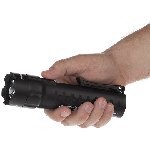 XPP-5420B Intrinsically Safe Flashlight Hand Image