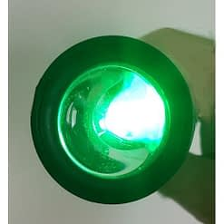 NightStar Shake Flashlight Green LED Lens Projection