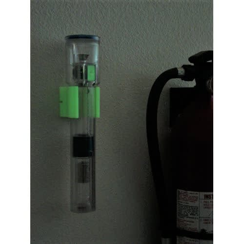 Shake Flashlight Glow-N-Dark Wall Mount
